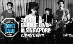 SELLING CNBLUE CAN'T STOP TOUR LIVE IN SINGAPORE