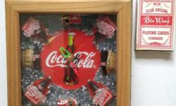 Coca Cola Clock, with box. Collectable Coke item. See