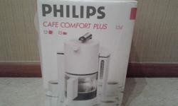 Philips cafe comfort plus 1.5 liters. 12-15 cups.