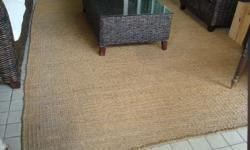 Large coir rug, suitable for large balcony or outside