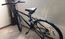 Rearly used 6 months old bike 9 gear mountain bike with