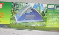 Coleman tent for 2-3 persons dimensions 2.1m x 1.5m