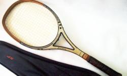 ~~CoLLecTor�s VinTaGe RuCanor Pro Wooden Tennis RacqueT
