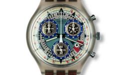 Selling 1 unit of collectors swatch Chronograph watch -