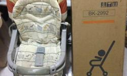 This combi stroller, we used to travel to overseas.