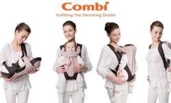 Combi Compact 4-in-1 baby carrier It is designed with 4