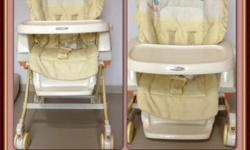 Ideal parenting aid. Can be used as daybed, highchair &