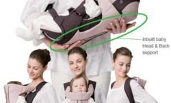 The Combi Magical Compact 4 Ways Baby Carrier!