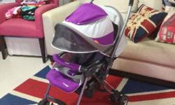 very useful combi miracle turn single stroller to let