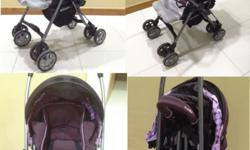 Preloved Combi Miracle Turn stroller Made in Japan for
