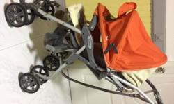 You are bidding Combi Miracle turn stroller /pram The