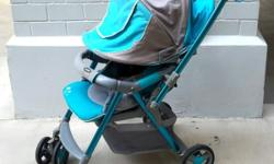 Combi stroller / pram. Simple one press folding /