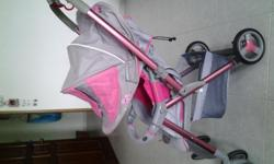 Let ho preloved combi urban walker stroller at $170.