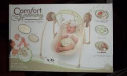 Selling Comfort Harmony Swing for $180 with box. Used