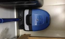 Compact Blue Vacuum Cleaner Brand Philips 1200 W Small