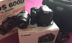 I am selling my CANON EOS600D less then 6 months for