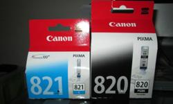 I have a complete set of Genuine Canon PGI-820 ink