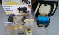 Complete set of Medela Freestyle Dual Breast Pump About