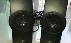 LOGITECH Speaker 1 pair Good condition. Self collect at
