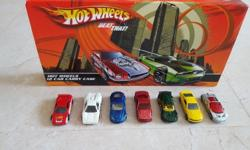 7 Hotwheels and matchbox die-cast sports cars selling