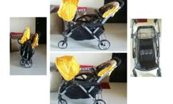 Some tandem strollers are big, bulky, and hard to fold,