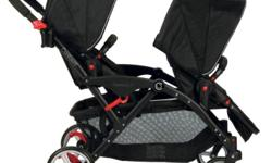 Selling a month old twin stroller. Stroller is like new