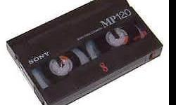 Video8 (8mm video tape) was launched into a market