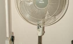 Cornell Stand Fan. The automatic rotation does not work