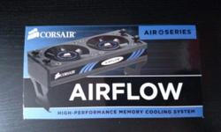 Corsair Dominator Airflow Memory Fan . *Supports Up To