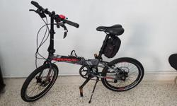 Cronus Tempo foldable bike with multi-speed. Almost