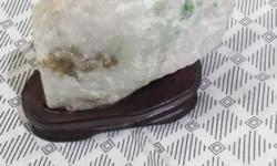 Adventurine stone natural form in light green.Size