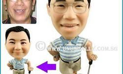 TURN YOUR PHOTO INTO A CUSTOM 3D MINI FIGURINE (8-9CM