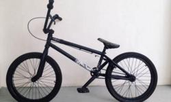 CUSTOM BMX in MATTE BLACK WETHEPEOPLE LO-FI FRAME METAL
