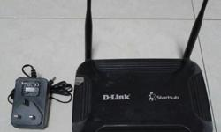 ***D-Link dvg-n5402sp wireless router from starhub.