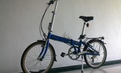 Dahon Bicycle for Sale. Excellent condition, never fell