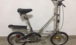 "Dahon bicycle for sale. Aluminum body. 16"". Well"