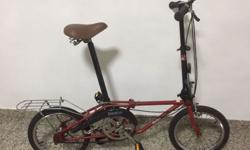 "Dahon bicycle for sale. 16"". Well maintained"