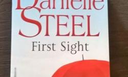 Danielle Steel's First sight is one of her new book.