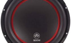 BRAND NEW DB DRIVE K3 10D4 900 WATT SUBWOOFER