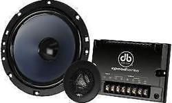 BRAND NEW DB DRIVE SP65.3 2 Way 200 Watt Speed Series