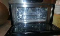 Selling our barely used De Dietrich:Combo Microwave &