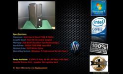 Dell OptiPlex 360 Desktop Computer for Sale in Bedok North