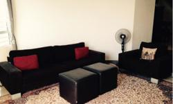 BO Concept 3 seater Sofa / armchair / 2 matching