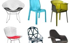 Designer's Chairs For Sale! Brand New Items Factory