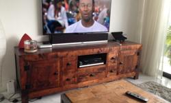 Designer solid teak TV console Imported from Hong Kong