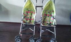 Easily attach n detachable strollers for Twins. Very