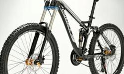 1 x DH bike ( black ) ( ready stk ) $450 PRICE NEGO -24