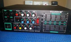 Selling my Vlliodor DS-1012 Digital amplifier with