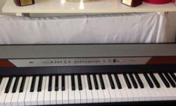 Available for $650, sparingly used Korg Piano. With