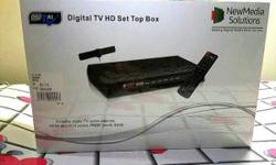 Digital TV HD set top box DV3 T2 New Pack Box model